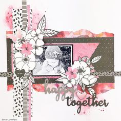 Created with July's Uniquely Creative kits featuring the Magenta collection by Kaisercraft. Baby Girl Scrapbook, Baby Scrapbook Pages, Scrapbook Journal, Scrapbook Albums, Scrapbook Layout Sketches, Scrapbook Designs, Scrapbooking Layouts, Smash Book Pages, Picture Layouts