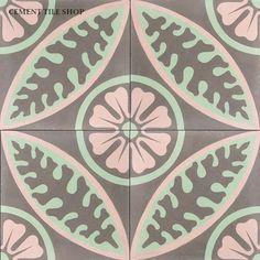 Cement Tile Shop - Handmade Cement Tile | Alpine Rose