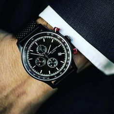 REPOST!!!  Absolutely #love this #larslarsen #watch I recently sold @heskin_farmers_market real #quality #heavy #manly #masculine #fashion #style #chunky #timepiece #black #matt #chronograph #danish #denmark #style #designer #design #shop #mens #mans #man #gift #idea  Photo Credit: Instagram ID @thomasroth88