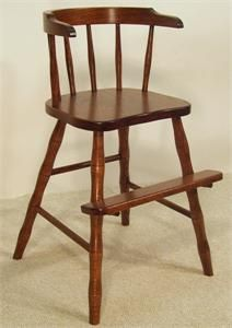 Amish Wraparound Youth Chair & Youth high chair. $69 Seat height 22