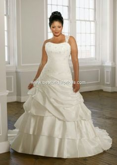 Full figured brides