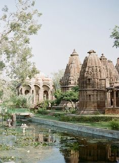 chhatris (cenotaphs) at mandore gardens, near jodhpur, india | travel destinations in south asia #wanderlust