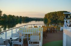 Cruising the Saône river on Monday night in southern France on A-ROSA Stella. Cruise Europe, Outdoor Furniture Sets, Outdoor Decor, Southern France, Ship, Monday Night, River, Home, Arosa