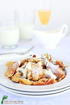 Kaiserschmarrn, Oostenrijk - lekker en eenvoudig zelf te maken French Toast, Yummy Food, Snacks, Breakfast, Skiing, Images, Snow, Drinks, Winter