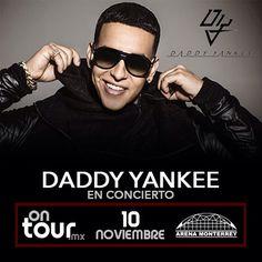 #DaddyYankee en Monterrey #ONTOURmx