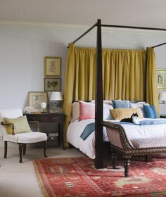 Color ideas for the bedroom.