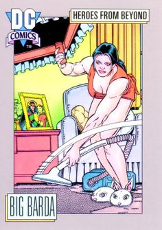 DC Comics Trading Cards by Kevin Maguire and Ty Templeton. Tim Drake Red Robin, Big Barda, Fourth World, Lois Lane, New Gods, Dc Comics Characters, Classic Comics, Comics Universe, Dc Heroes