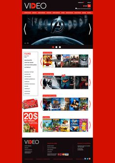 Websites Design / VIDEO on Behance