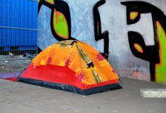 Urban Camping: Under the Bridge Outdoor Gear, Berlin, Bridge, Camping, Urban, Blog, Campsite, Bridge Pattern, Outdoor Tools