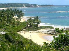 Praia de Setiquara, em Trancoso, Porto Seguro (BA)
