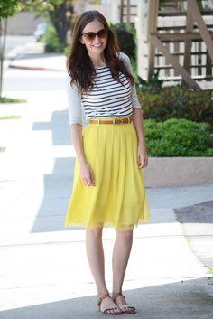 Merricks Art: yellow skirt