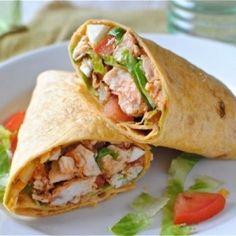 Buffalo Chicken Wraps. #foodgawker