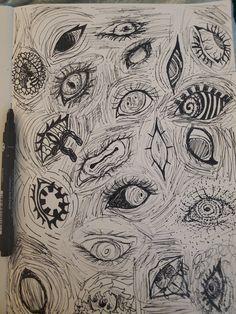 Indie Drawings, Psychedelic Drawings, Art Drawings Sketches Simple, Arte Grunge, Grunge Art, Trash Art, Psy Art, Art Diary, Arte Sketchbook