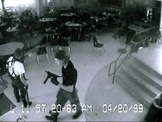 April 20th. 1999: The Columbine High School shootings in which Eric Harris and Dylan Klebold killed 13 people.