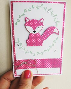 Love the Foxy and Friends Stampin' Up! stamp set #stampinupuk #paidtocraft…