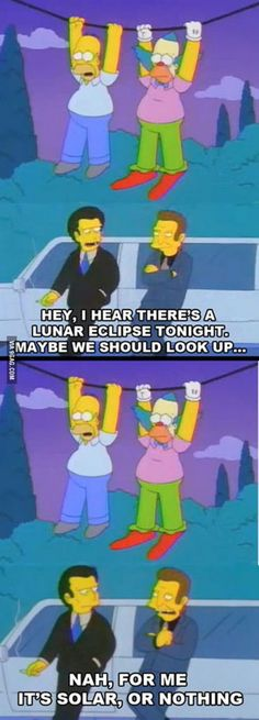 The Simpsons is still the best show Maybe we should look up...