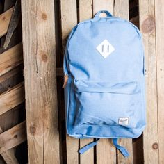 """""""Herschel Supply Co. Heritage Backpack Mid Volume - Cambray $55 Available now online and at our Lafayette location. #backpack #herschelsupplyco #herschel…"""""""