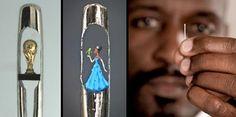 Las esculturas microscópicas de Willard Wigan