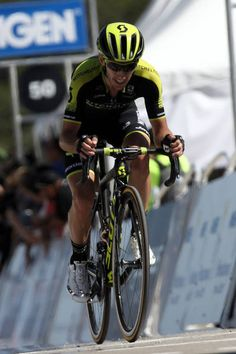 Adam Yates of Great Britain and Team MitcheltonScott finishes during stage two of the 13th Amgen Tour of California a 157km stage from Ventura to...