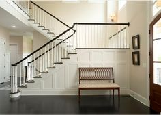 Interior Paint Color and Color Palette Ideas with Pictures- BM Barely Beige 1066