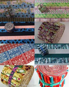 """Jelly Roll 20 Strips 2.5"""" Your Choice Quilting Fabric Quilt Stash Material Sew"""