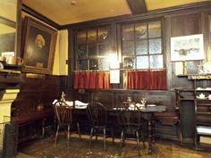 Chop Room, Ye Olde Cheshire Cheese, Fleet Street, London