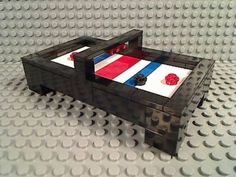LEGO-AIR-HOCKEY-TABLE-Top-Arcade-Puck-Ice-Sports-Bar-Game-Room-City-Friends-Town