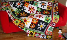 Citrus Blossoms by Toni Alexander, The Red Boot Quilt Company    https://www.craftsy.com/user/pattern/store/520769