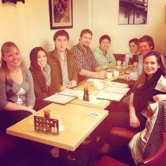 Om nom nom. Team Identified out grabbing sushi!