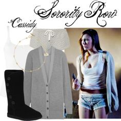 Sorority Row#SororityRow #BrianaEvigan #CassidyTappan Briana Evigan, Sorority Row, The Row, Luxury Fashion, Outfits, Image, Shopping, Collection, Design