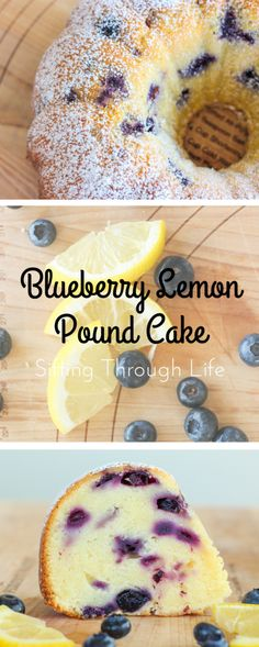 This Blueberry Lemon Pound Cake is summer in a bundt pan.