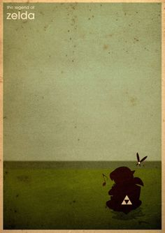 pixalry:  Legend of Zelda Posters - Created byAri Martinez