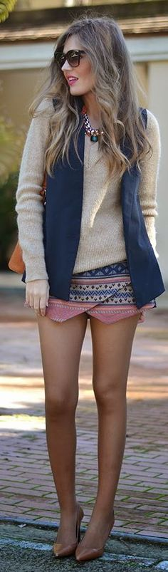 The new and improved skort! Express has really cute ones and but dillards sells more solid colors!
