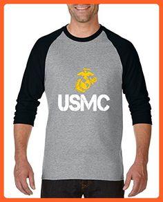 82b3b9939c8 Ugo USMC US Marine Corps Matching Couples Birthday Christmas Gift Unisex  Raglan Sleeve Baseball T-