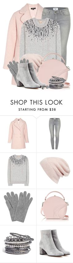 """""""Michael Kors Embellished Cashmere Sweater"""" by brendariley-1 ❤ liked on Polyvore featuring Morgan, Paige Denim, Michael Kors, Rebecca Minkoff, L.K.Bennett, Bertoni, Natasha Couture, Gianvito Rossi, Blue Nile and Sweater"""