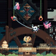 "pixelprospector: "" Flinthook System: PC (probably also PS4 and Vita) Status: In Development Release: TBA 2016 Developer: Tribute Games Website: flinthook.com / blog.tributegames.com / Steam Video: Gameplay Video Description: ""Flinthook is a fast..."
