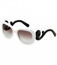 Prada Minimal Baroque Square-frame Sunglasses on shopstyle.co.uk