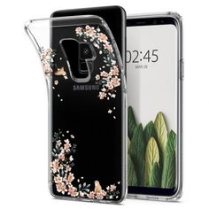 Husa Samsung Galaxy Plus Spigen Liquid Crystal Nature - TotalMobil New Samsung Galaxy, Galaxies, Dots, Phone Cases, Crystals, Floral, Nature, Pattern, Leaves