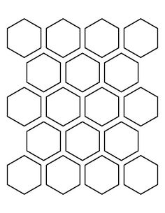 Image result for hexagon outline quilt