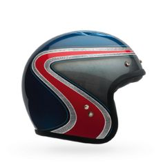 CAPACETE CUSTOM 500 SE AIRTRIX HERI BLUE/RED - LCS Motorparts