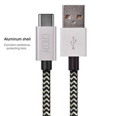 CACOY Type C to USB2.0 Cable Cotton Braided Data Cable 6.... http://www.amazon.com/dp/B01B2IVEJO/ref=cm_sw_r_pi_dp_WXxpxb0RY4ZGK