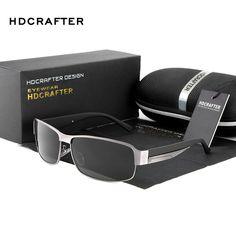 a658faa83b4 HDCRAFTER Fashion Driving Sun Glasses for Men Polarized UV400 Sunglasses  Men Oculos Male gafas de sol