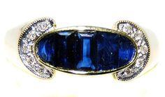 18K Yellow Gold Diamond For Men Genuine Blue Sapphire Ring [RQ0018] BKGjewelry http://www.amazon.com/dp/B00CDO03TE/ref=cm_sw_r_pi_dp_OMtkwb1HZ25A9