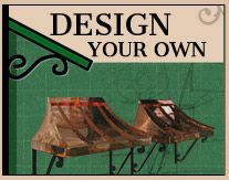 Shop Design Your Awning for the best copper and metal door awnings. We provide beautiful awning styles that ship to your door. Door and Window Awnings. Metal Door Awning, Copper Awning, Front Door Awning, Window Awnings, House Awnings, Porch Awning, Front Stoop, Front Doors, Fabric Awning