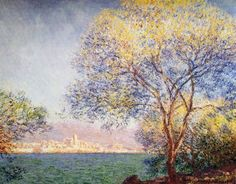 Morning at Antibes by Claude Monet (1888)