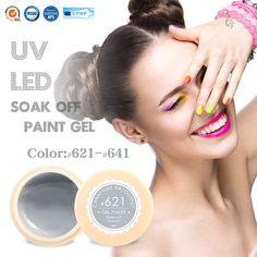 #50618 CANN Tırnak Jel Kaynağı 141 Renkler Jel Boya UV Jel Kapalı Emmek AÇTı