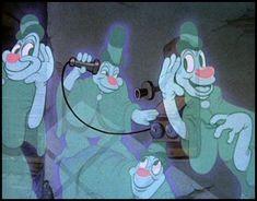 Lonesome Ghosts (1937), a Walt Disney cartoon short subject