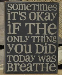 Sometimes It's Okay...Wall Plaque-Wall Plaque,Sometimes Wall Plaque,Barbare Llyod Wall Plaque,Inspirational Sayings