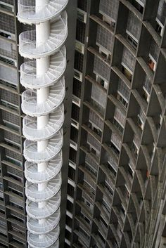 EDIFICIO COPAN STAIRS by Oscar Niemeyer (do not want to climb these)