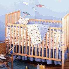 Fishing Crib Bedding Click To Enlarge